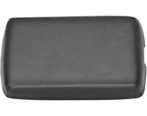 Camaro Console Door Lid Cover, Satin Black, 1982-1992