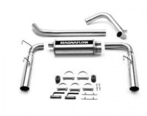 Camaro Dual Exhaust System, 3.4/3.8 V6, Performance, MagnaFlow, 1993-1997