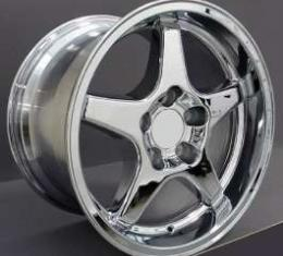 Camaro 17X11 ZR1 Style Deep Dish Wheel, Chrome, 1993-2002