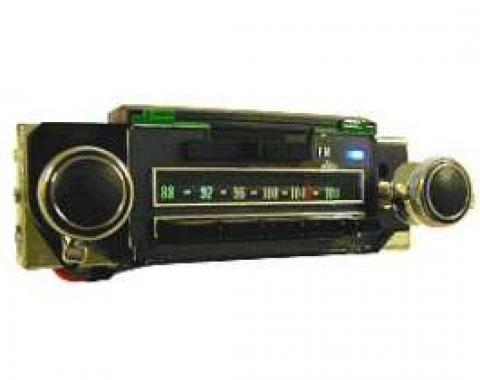 Camaro Radio, AM/FM, Reproduction, 1969