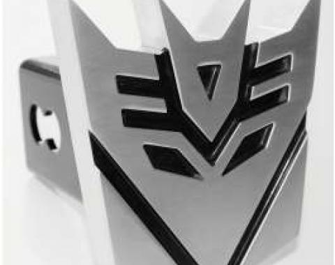 Camaro Transformers Decepticon Logo 2 Billet Trailer Hitch Receiver Cover