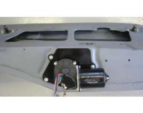 Camaro Electric Wiper Motor, Replacement, With Delay Switch, 1968-1969