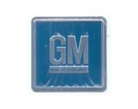Camaro GM Mark Of Excellence Door Plate, 1967