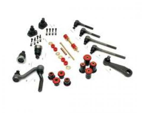 Camaro Suspension Overhaul Kit, Major, With Polyurethane Bushings, For Cars With Quick Ratio Manual Steering, 1968-1969