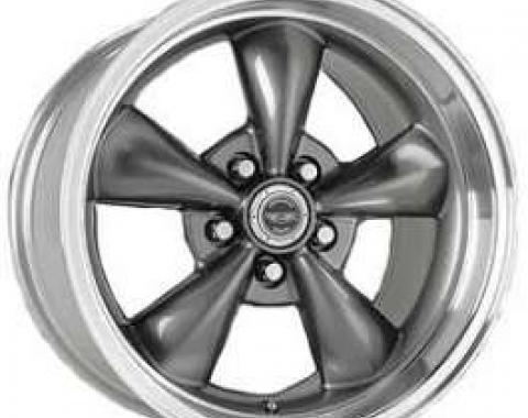 Camaro Torq-Thrust M Wheel, 17 x 9, Aluminum, Painted Anthracite, American Racing, 1993-2002