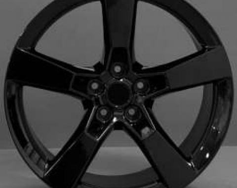 Camaro SS Style Black 20 X 8 Replica Wheel, 2010-2013