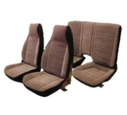 PUI 1982-1985 Chevrolet Camaro Standard Rear Seat Covers, Coupe 82FSC