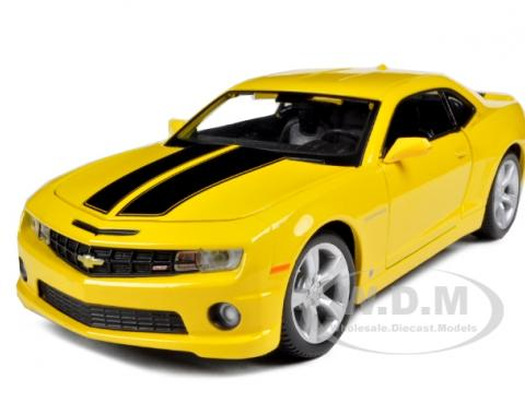 Camaro 2010 RS SS Yellow 1/24 Diecast Model Car