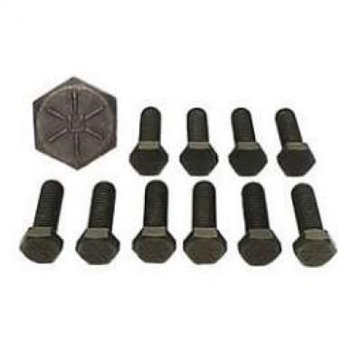 Camaro Intake Manifold Bolt Set, Cast Iron, Small Block, 1967-1969