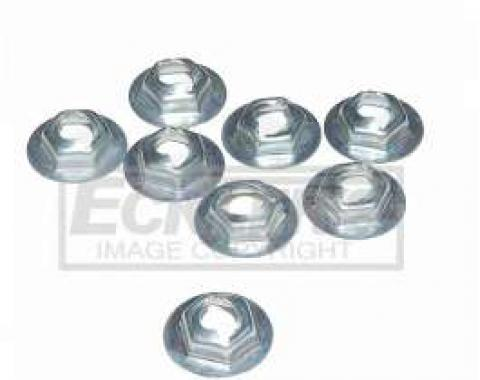 Camaro Taillight To Body Mounting Nuts, 1972-1973