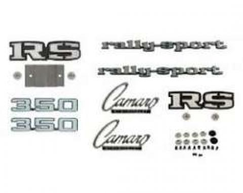 Camaro Emblem Kit, For Rally Sport (RS) With 350ci, 1969