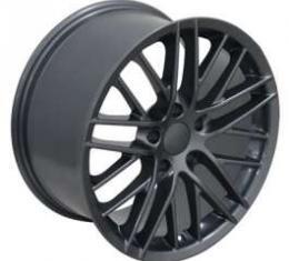 Camaro 18 X 9.5 C6 ZR1 Reproduction Wheel, Gunmetal, 1993-2002