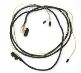 Camaro Rear Body & Taillight Wiring Harness, With Seat Belt Warning-Dash To Quarter Panel, 1972-1973