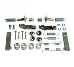 Camaro Parking Brake Installation Hardware Kit, Stainless Steel, For Cars With JL8 Or Heavy-Duty Service Package, 1969