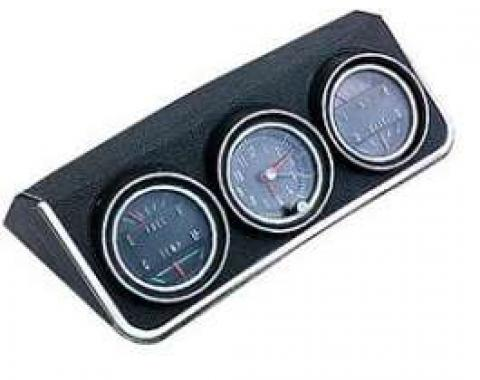 Camaro Console Gauge Assembly, Complete, 1967