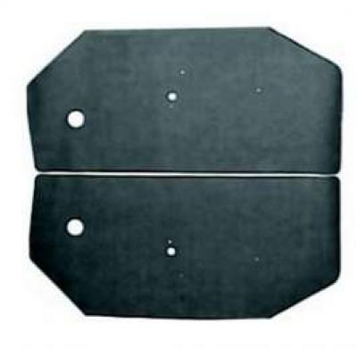 Camaro Door Panel Watershield Set, Convertible, 1968-1969