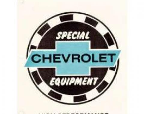 Camaro Book, Chevrolet Special Equipment Manual, 1967-1969