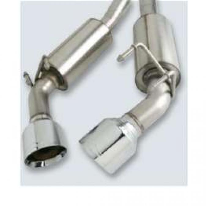 Camaro Exhaust, GM Performance Parts, V6 Only, 2010-2011