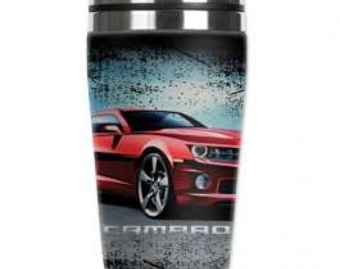 Camaro Mugzie Travel Mug, Hot Or Cold, Sangyup Lee Camaro