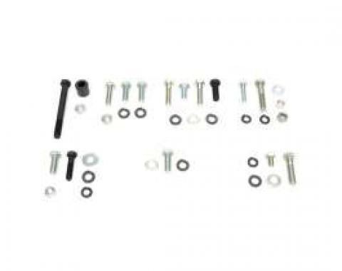 Camaro Air Conditioning Compressor Mounting Hardware Set, Small Block, 1968