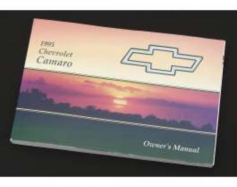 Camaro Owner's Manual, 1995