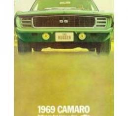 Camaro Dealer Showroom Brochure, 1969
