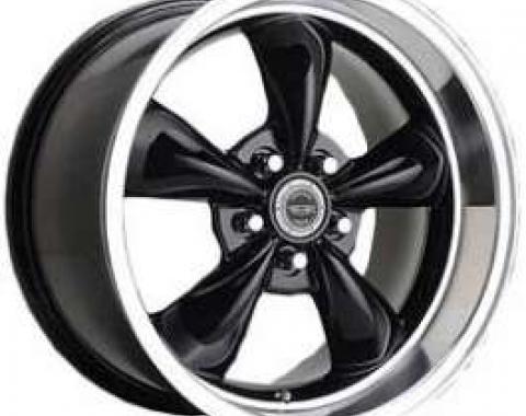 Camaro Torq-Thrust M Wheel, 17 x 9, Aluminum, Painted Black, American Racing, 1993-2002