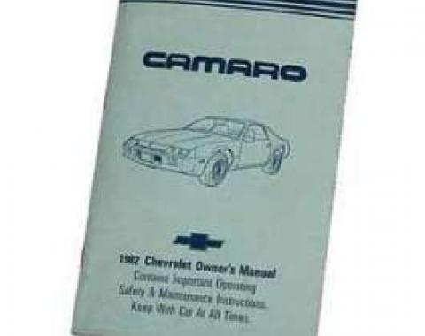 Camaro Owner's Manual, 1982