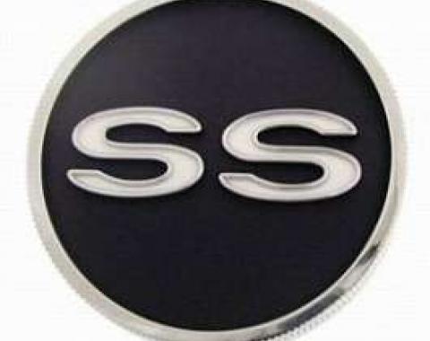 Camaro Gas Cap, Super Sport (SS), Show Quality, 1967-1968