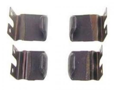 Camaro Roofrail Weatherstrip Blow-Out Clip Set, Coupe, 1967-1969