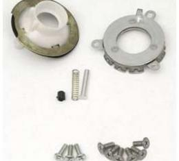Camaro Horn Cap Contact & Mounting Parts Kit, Wood Steering Wheel, For Cars With Tilt Steering Column, 1969