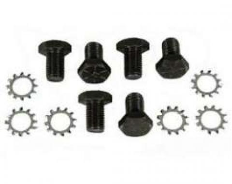 Camaro Flexplate Crankshaft Mounting Bolt & Washer Set, Automatic Transmission, 1967-1997