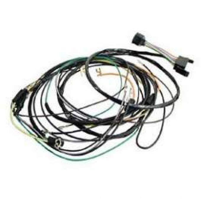 Camaro Console Gauge Conversion Wiring Harness, For Cars With Automatic Transmission Console Shift, 1967