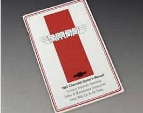 Camaro Owner's Manual, 1983