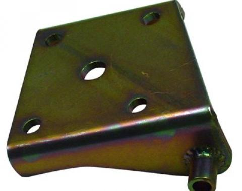 Detroit Speed Lower Shock Plate Mini-Tubbed Left 3 Inch Axle Tube (Use 1/2 Inch U-Bolts) 040301L