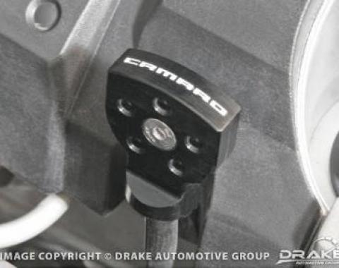 Drake Muscle Cars 2010-14 Camaro Oil Stick Handle Cover-Black CA-120001-BLK