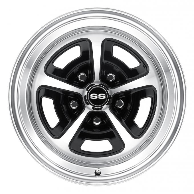 Legendary Wheels 16 x 8 Magnum Wheel, 5 on 4.75 BP, 4.5 BS, Gloss/Black Machined LW50-60857A