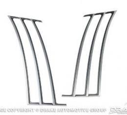 Drake Muscle Cars 2010-14 Camaro Quarter Trim-Satin CA-190001-S