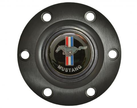 Volante S6 Series Horn Button Kit, Classic Ford Mustang, Black