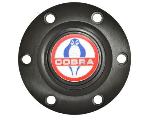 Volante S6 Series Horn Button Kit, Cobra, Black