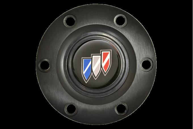 Volante S6 Series Horn Button Kit, Buick, Black