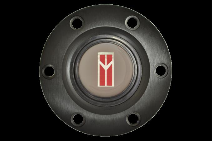 Volante S6 Series Horn Button Kit, Oldsmobile, Black