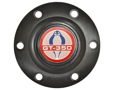 Volante S6 Series Horn Button Kit, Ford GT350, Black