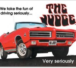 Tin Sign, Pontiac GTO - The Judge