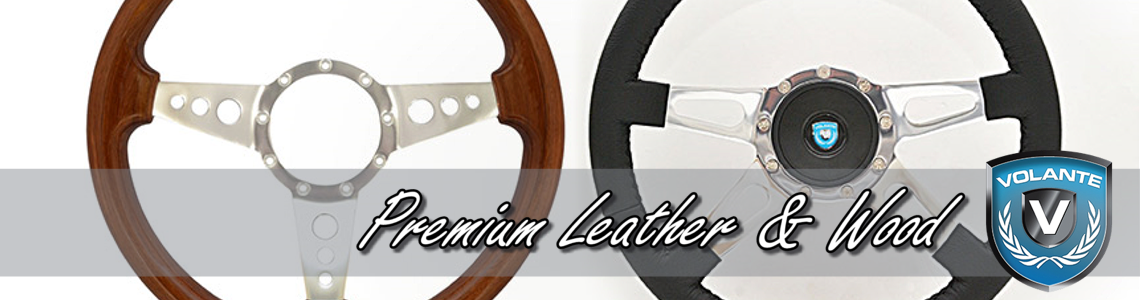 Premium Leather & Wood