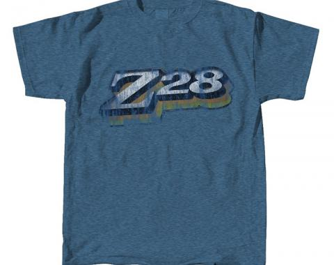 Camaro Z-28 T-Shirt, Denim Blue