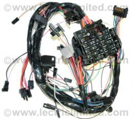 Camaro Underdash Wiring Harness, for cars with Automatic Transmission and Factory Gauges, 1979