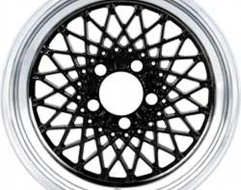 """Firebird GTA Wheel, 16"""" x 8"""", Black, 16mm Offset, 1987-1992"""
