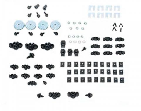 Camaro Front End Fastener Kit, Rally Sport, Stainless Steel, 1969
