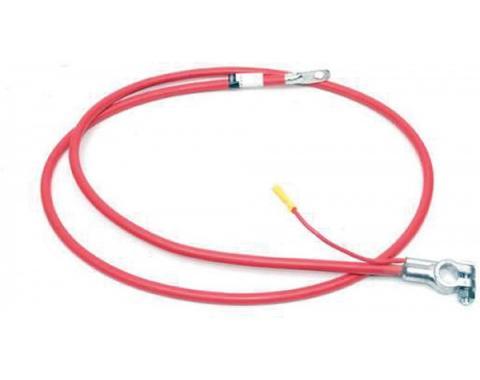 Firebird Battery Cable, Positive, 455 c.i. Super Duty, 1972-1974